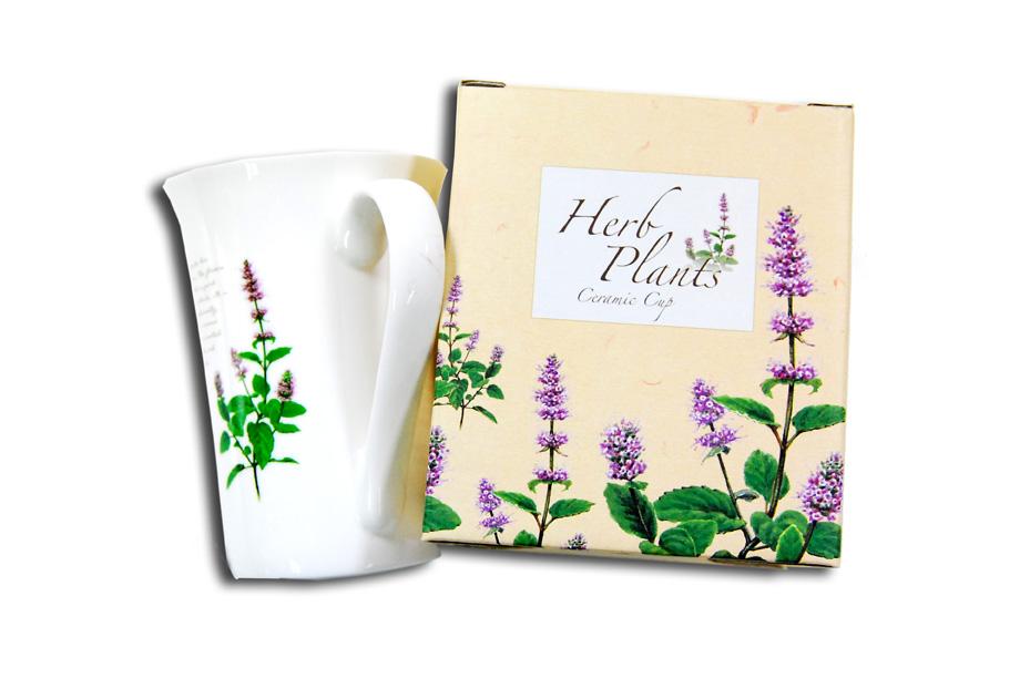 香草植物瓷杯B款
