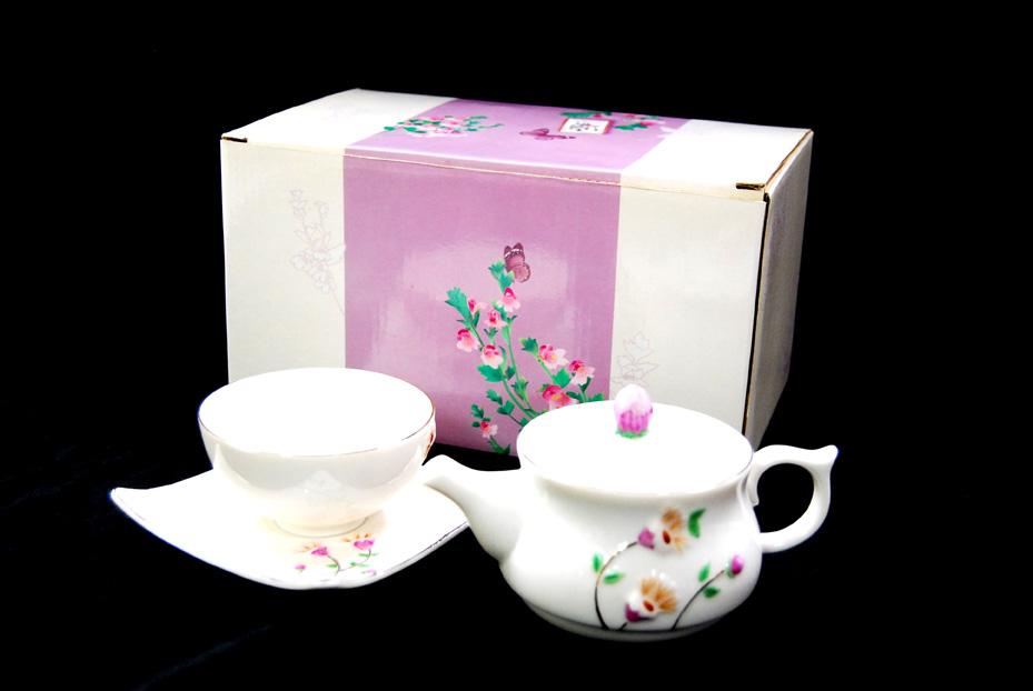 小米草瓷杯茶具組