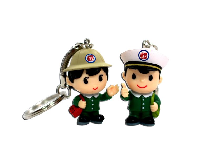 郵政寶寶鑰匙圈-104年男寶寶
