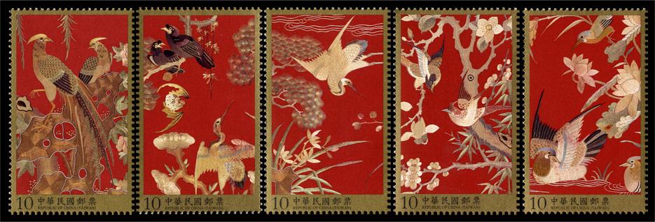 清代刺繡郵票(已售罄)