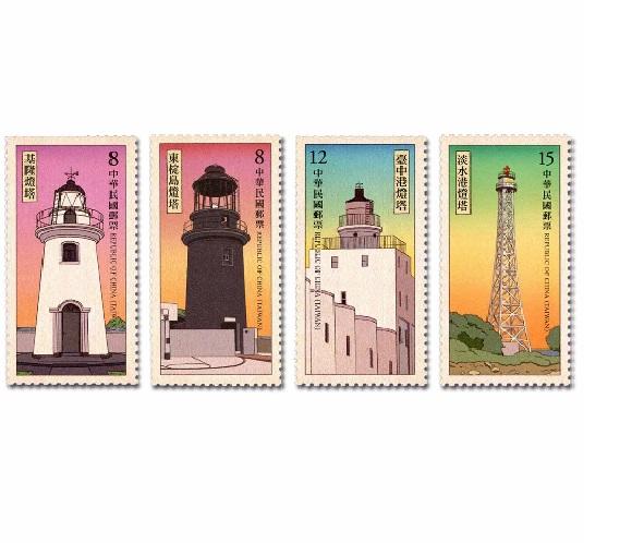 燈塔郵票(108年版)