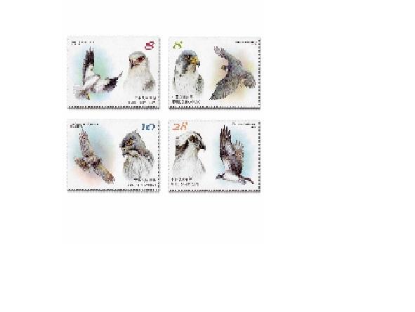 保育鳥類郵票(109年版)