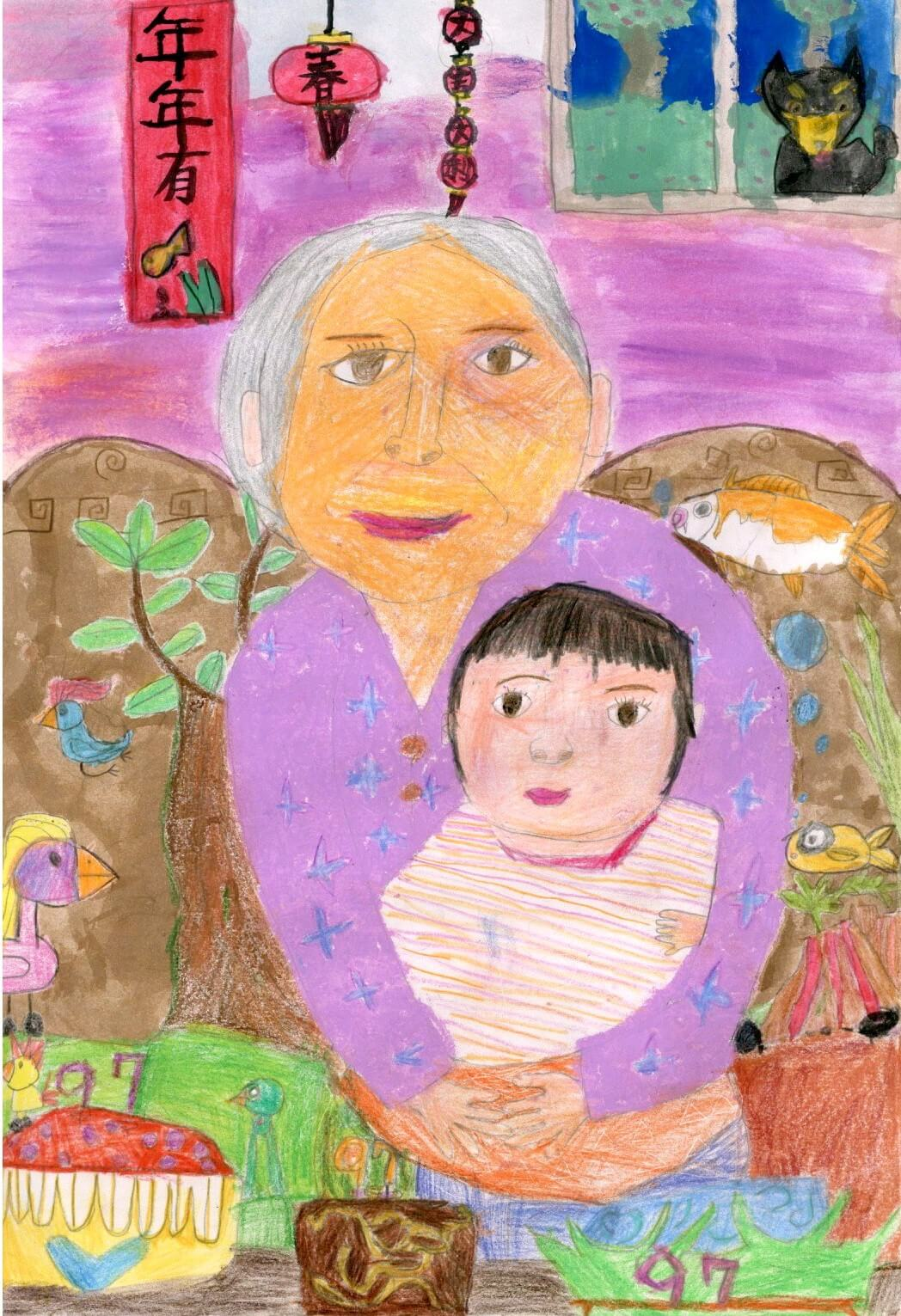 郵政博物館「真善美」兒童繪畫比賽得獎名單